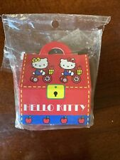 Vintage Hello Kitty Suitcase Roll Sticker Sanrio Used in Box 2001