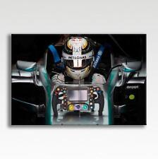 """Lewis Hamilton Mercedes f1 AUTO CASCO Tela Poster Stampa Foto Art 30"""" x 20"""""""