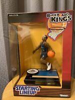 1999 Starting Lineup Backboard Kings Magic Johnson Lakers Michigan State NIB
