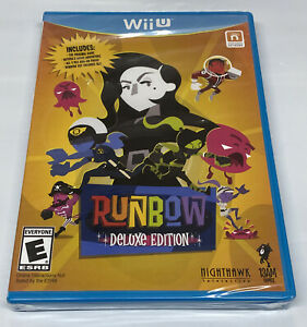 Runbow: Deluxe Edition (Nintendo Wii U, 2016) BRAND NEW FACTORY SEALED