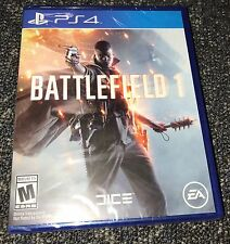 NEW Battlefield 1 SONY PLAYSTATION 4 PS4 GAME Factory Sealed REGION FREE