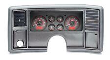 1978-88 El Camino Monte Carlo Dakota Digtial Carbon Fiber & Red VHX Gauge Kit