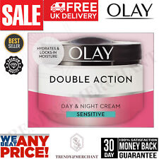 Olay Double Action Moisturiser Day and Night Cream Face Care Hidration 50ml