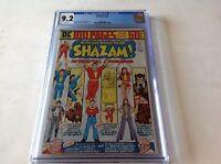 SHAZAM 12 CGC 9.2 WHITE PAGES DC 100 PAGE COMIC CAPTAIN MARVEL MARY DC COMICS