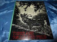 Sammelbilder - Album ,  Tiere aus Wald und Feld  , Herba Verlag , April 1968