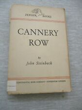 Cannery Row, John Steinbeck,paperback,1st edit.,Zephyr books,Sweden,1945. cs1799