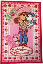 strawberry shortcake Custard cat dog Pupcake Floor Mat/Rug Kids Room Nursery