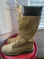 TIMBERLAND LEATHER MEN'S KNEE-HIGH HIKING BOOTS SIZE 7
