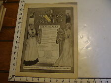 The Modern Priscilla : Lynn Mass 1902, Nov. vol XVI # 9: Peasant embroidery