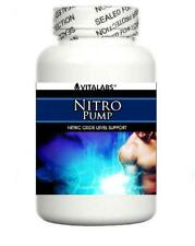 Nitro Pump Xtreme Muscle Growth Builder Nitric Oxide 6 Pack Bodybuilding Gain