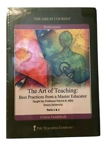 Great Courses DVD The Art of Teaching Best Practices from a Master Educator