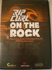 RIP CURL ON THE ROCK DVD - 2008 HAWAII  - VGC - R4 Aust