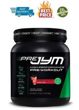 Pre Jym Pre Workout Powder - Bcaas, Creatine Hci, Citrulline Malate, Beta-Alanin