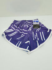 Fit 2 Win S772-Gbar G Pur Sublimated Womens Shorts Purple White Small
