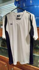 Mizuno Running Athletic Sports V Neck Shirt Size Medium