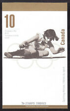 CANADA BOOKLET #BK192b 45c MULTI, 1996 OLYMPIC GOLD MEDALISTS, OPEN