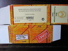 BOITE VIDE NOREV    CITROEN 2CV PROTOTYPE CYCLOPE 1942 EMPTY BOX CAJA VACCIA