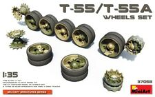 MiniArt 37058 T-55/T-55A WHEELS SET 1/35 Plastic Model Kit