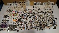 4 1/2 - 5 Pounds of Antique/Vintage Buttons, Mixed Lot