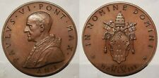 Vaticano medaglia  papa Paolo VI elezione 1963 anno I