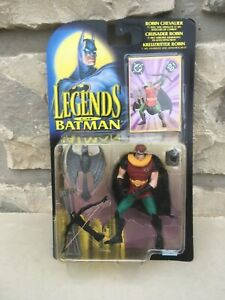 Figure CRUSADER ROBIN - Legends of the Dark Knight / Batman - DC / Kenner 1995