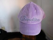 UNITED COLORS OF BENETTON GIRLS PURPLE CAP WITH VISOR SIZE M AGE 7-8 4fc3473686d9