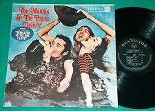 The Mamas & The Papas - Deliver BRAZIL MONO LP 1967 RCA