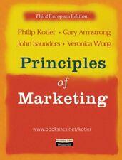(Very Good)-Principles of Marketing: European Edition (Paperback)-Philip Kotler,