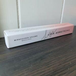 AVON Lisa Armstrong Miraculous Volume Mascara - New & Boxed - NOIR (U) 9ml