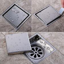 Moderne Square Badezimmer Dusche Boden Abfluss Waschmaschine Abfall AbzugNEU~