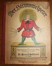1928? Der Stuwwelpeter Unknown Edition Disbound Illustrated German Text