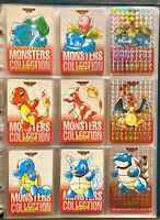 Pokemon Pocket Monsters Carddass Complete Set 1996 Red - Charizard Prism (P)