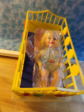1964 Vintage Deluxe Reading Suzy Cute Doll With Bed, Mattress, And Case