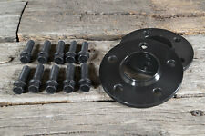 Spurverbreiterung 30mm / 2x15mm inkl Schrauben 5x112 für Audi Q5 SQ5 FY 8R Black