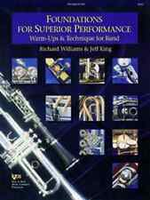 """""""Foundations For Superior Performance""""-French Horn Music Book Band Brand New!"""