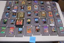 Lot of 40 Original Nintendo Nes Games Mario 1-3, Donkey Kong Clasics, Zelda