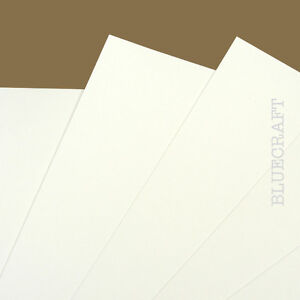 20 x A6 White Prestige Blank Invitation Cards 400gsm - Weddings Parties Events