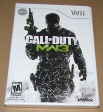 Call of Duty: Modern Warfare 3 (Nintendo Wii) Brand New / Fast Shipping