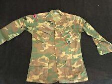 Rare Vietnam USAF Air Force Security Police K9 Dog handler named jungle jacket
