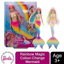 Barbie Dreamtopia Rainbow Magic Colour-Change Mermaid