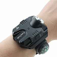 Super Bright Wrist Led Light Waterproof Rechargeable. Comes with 5 modes