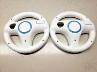 2 Pack Mario Kart Racing Steering Wheel for Nintendo Wii Remote Game Controller