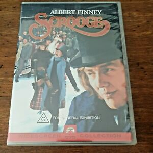 Scrooge DVD Albert Finney R4 BRAND NEW SEALED! FREE POST
