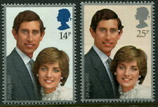 GREAT BRITAIN - 1981 'ROYAL WEDDING' Pair MNH [B5859]