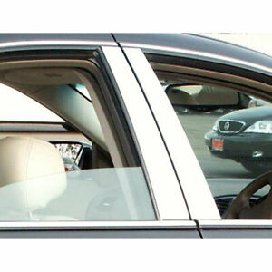 4pc. Luxury FX Chrome Pillar Post Set fit for 2000-2008 Lincoln LS