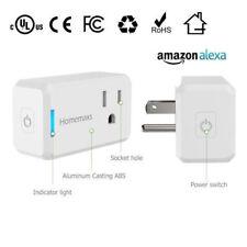 WiFi Smart Plug Power Switch Outlet Alexa Google Home Echo Wireless  Timing NEW