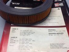 FORD CAPRI 1.6 TRANSIT 2.4 D FILTRO ARIA CHAMPION W122