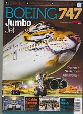 AIRLINER WORLD MAGAZINE PRESENTS BOEING 747 JUMBO QUEEN OF THE SKIES.