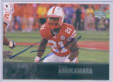2011 Upper Deck College Legends Autograph Prince Amukamara Nebraska Cornhuskers