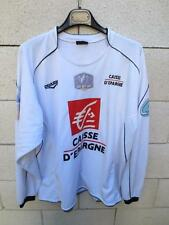 Maillot porté n°9 ISTRES COUPE de FRANCE Duarig match worn shirt blanc away
